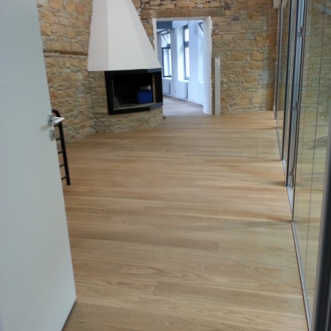 Renovation parquet design Vaise Lyon